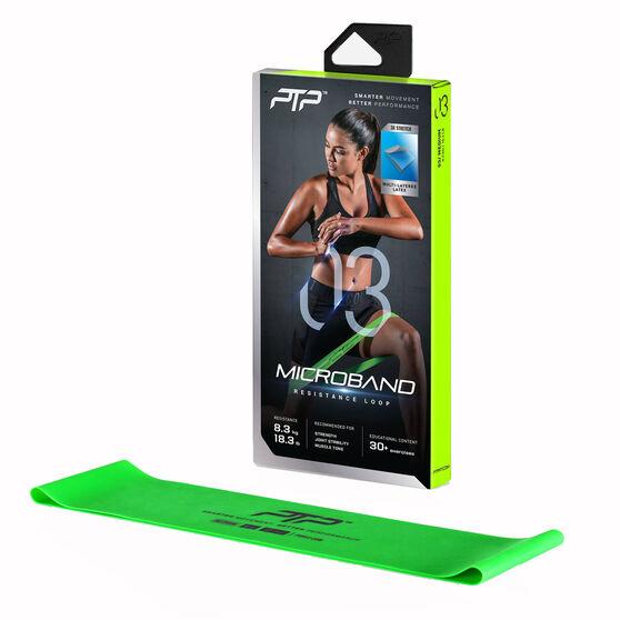Exercise Bands Rebel: PTP Medium MicroBand Green Medium