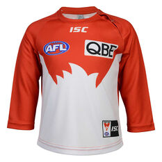 Sydney Swans 2020 Infants Home Guernsey White/Red 1, White/Red, rebel_hi-res