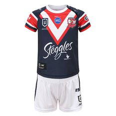 Sydney Roosters 2020 Infants Home Jersey Navy / Red 1, Navy / Red, rebel_hi-res