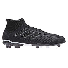adidas Predator 18.3 Mens Football Boots Black US 7, Black, rebel_hi-res
