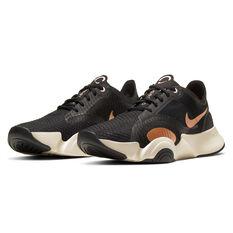 Nike SuperRep Go Womens Training Shoes, White/Black, rebel_hi-res