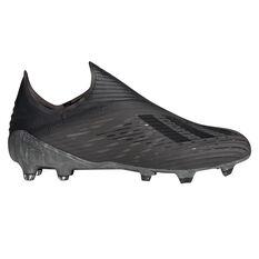 adidas X 19+ Football Boots Black / Grey US Mens 7 / Womens 8, Black / Grey, rebel_hi-res