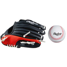 Rawlings LHT 9in Glove and Ball Set, , rebel_hi-res