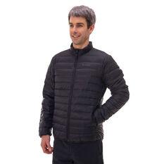 Macpac Mens Uber Light Down Jacket, Black, rebel_hi-res