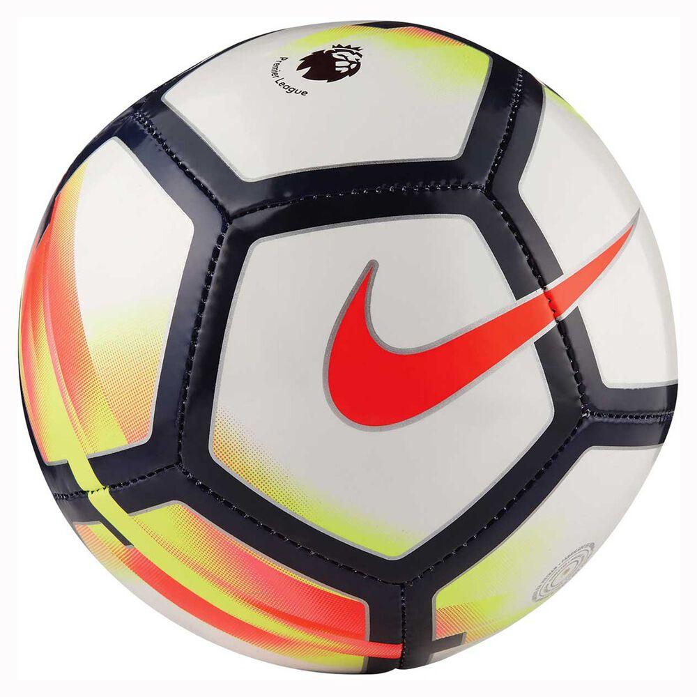 Nike Premier League Skills Mini Soccer Ball White / Red 1 ...