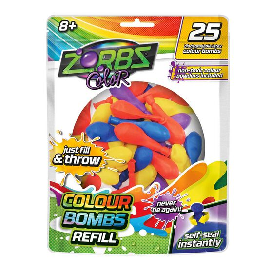 Zorbz Colour Water Balloon Refills, , rebel_hi-res