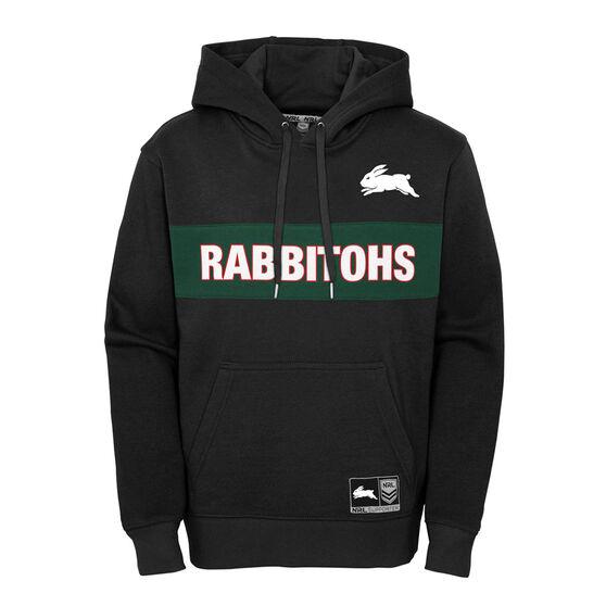 South Sydney Rabbitohs 2021 Kids Hoodie, Black, rebel_hi-res