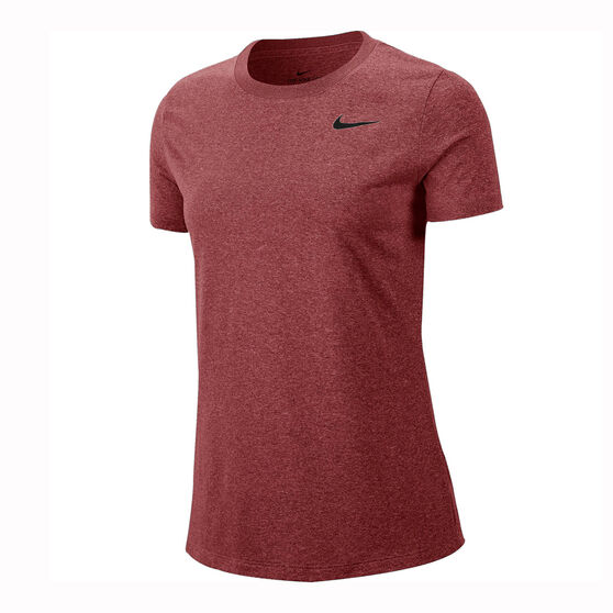 Nike Womens Dri-FIT Legend Training Tee Red XS, Red, rebel_hi-res