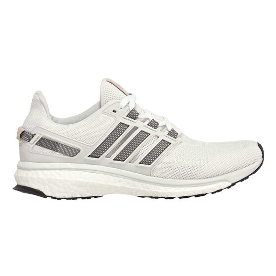 low priced 414df b11e2 adidas Energy Boost 3 Womens Running Shoes White   Grey US 9, White   Grey