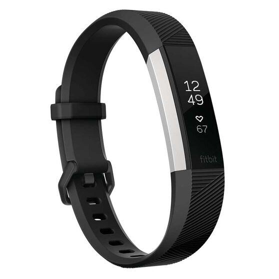Fitbit Alta HR Activity Tracker S Black, , rebel_hi-res