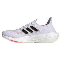 adidas Ultraboost 21 Womens Running Shoes White/Black US 6, White/Black, rebel_hi-res