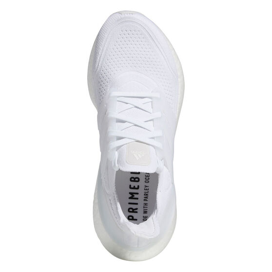 adidas Ultraboost 21 Womens Running Shoes, White, rebel_hi-res