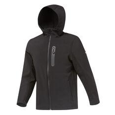 Tahwalhi Mens Panorama Softshell Ski Jacket Black S, Black, rebel_hi-res