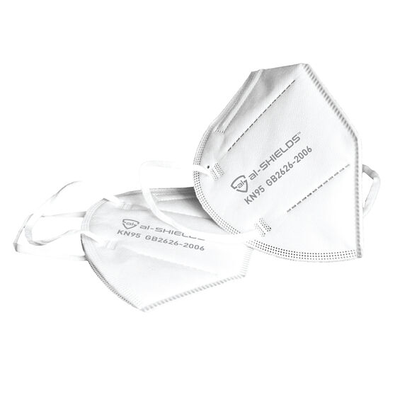 al-SHIELDS KN95 Respirator Face Masks 2 Pack, , rebel_hi-res