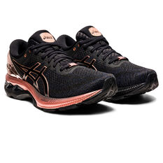 Asics GEL Kayano 27 Womens Running Shoes Black US 6.5, Black, rebel_hi-res