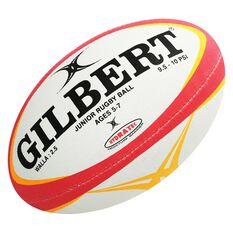 Gilbert Zenon Pathways Wallabies Rugby Ball White / Yellow 2.5, , rebel_hi-res