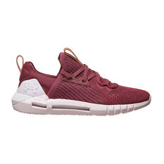 Under Armour HOVR SLK EVO Perf Suede Womens Casual Shoes Purple / Pink US 6, Purple / Pink, rebel_hi-res