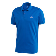 adidas Mens Polo, Blue, rebel_hi-res