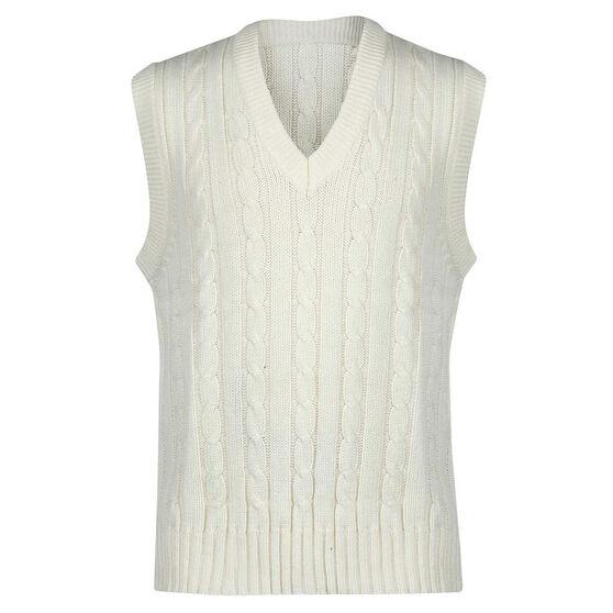 Gray Nicolls Sleeveless Junior Cricket Sweater 8, , rebel_hi-res