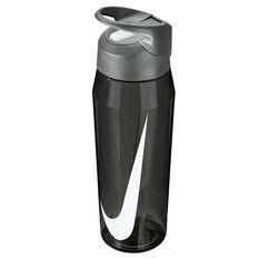 Nike Hypercharge 946ml Water Bottle, Black, rebel_hi-res