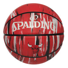Spalding NBA Team Chicago Bulls Marble Basketball, , rebel_hi-res