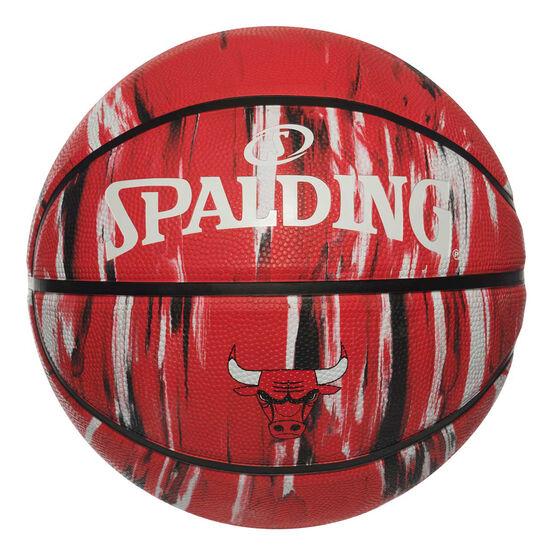 Spalding NBA Team Chicago Bulls Marble Basketball, , rebel_hi-res