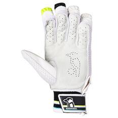 Kookaburra Rapid Pro 5.0 Junior Cricket Batting Gloves Green/Blue Youth Right Hand, Green/Blue, rebel_hi-res