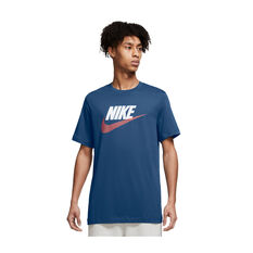 Nike Air Mens Sportswear Brand Alternate Tee Blue XS, Blue, rebel_hi-res