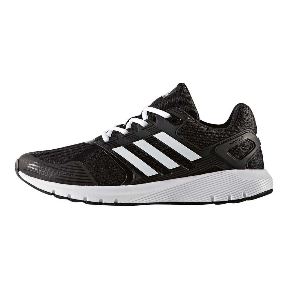 new concept 04a02 aa005 adidas Duramo 8 Mens Running Shoes Black   White US 9, Black   White,