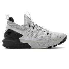 Under Armour Project Rock 3 Mens Training Shoes Grey/Black US 7, Grey/Black, rebel_hi-res