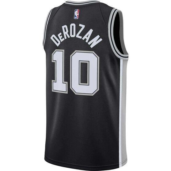 Nike Men's San Antonio Spurs DeMar DeRozan 2019 Swingman Jersey, , rebel_hi-res