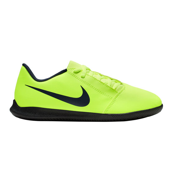 Nike Phantom Venom Club Kids Indoor Soccer Shoes, Green / Black, rebel_hi-res