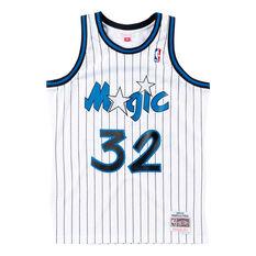 Orlando Magic Shaquille O'Neal 93/94 Mens Jersey White S, White, rebel_hi-res
