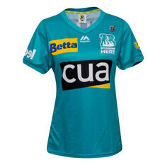 Brisbane Heat 2019/20 Womens WBBL Onfield Jersey Teal 8, Teal, rebel_hi-res