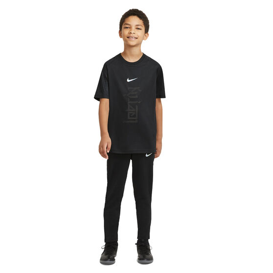 Nike Boys Kylian Mbappe Dri-Fit Tee, Black, rebel_hi-res