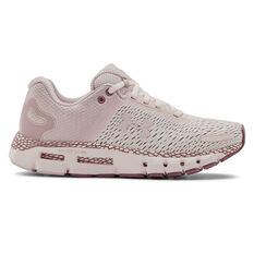 Under Armour HOVR Infinite 2 Womens Running Shoes, Pink, rebel_hi-res