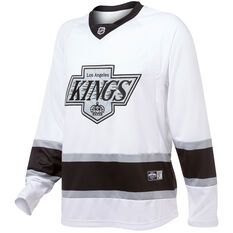 Los Angeles Kings Mens Replica Jersey White S, White, rebel_hi-res