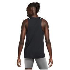 Nike Mens Dri-Fit Rise 365 SS Tank Black S, Black, rebel_hi-res