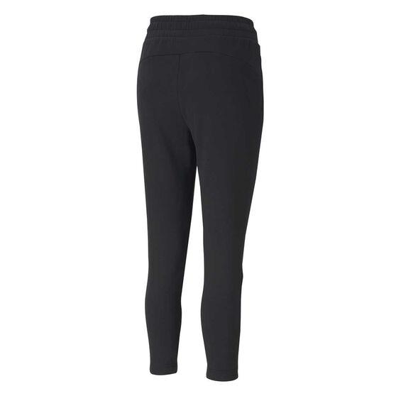 Puma Womens Evostripe Knitted Sweatpants, Black, rebel_hi-res