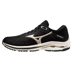 Mizuno Wave Rider 24 Womens Running Shoes Black/Gold US 6, Black/Gold, rebel_hi-res