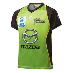 Sydney Thunder 2019 Kids Jersey Green 8, Green, rebel_hi-res