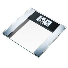 Sanitas Digital Glass Body Fat Scales Silver, , rebel_hi-res