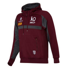 QLD Maroons State of Origin 2020 Mens Squad Hoodie Maroon S, Maroon, rebel_hi-res