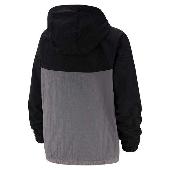 Nike Sportswear Boys Woven Jacket, Black / Grey, rebel_hi-res