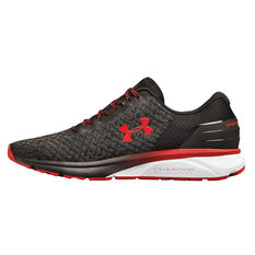 Under Armour Charged Escape 2 Mens Running Shoes Black / Red US 7, Black / Red, rebel_hi-res