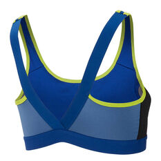 Nike Womens Classic Sports Bra Blue XS, Blue, rebel_hi-res