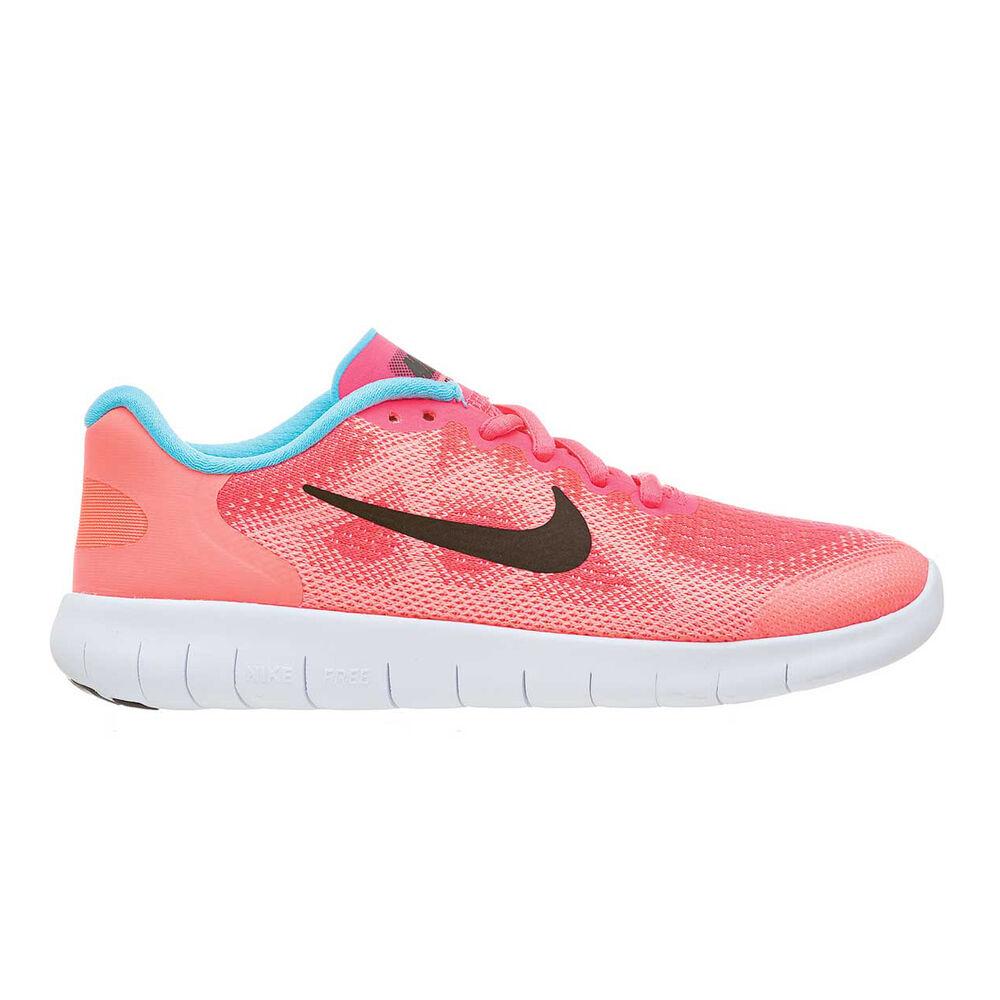 65486e177dcb Nike Free Run 2017 Girls Running Shoes Pink   Black US 5