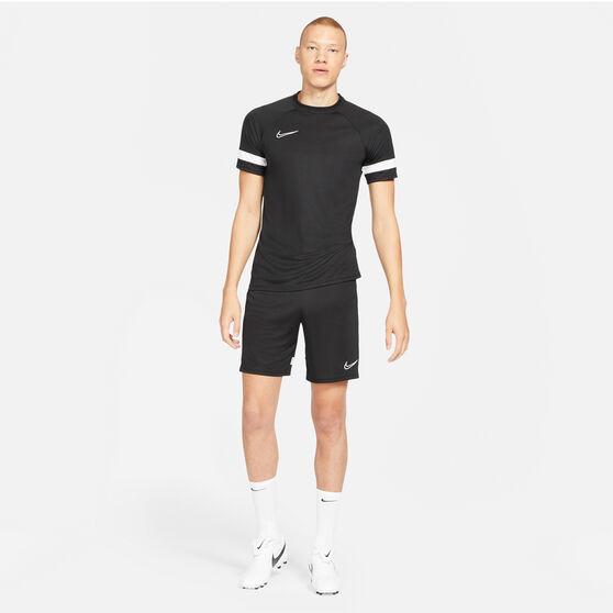 Nike Mens Dri-FIT Academy Soccer Tee, Black, rebel_hi-res