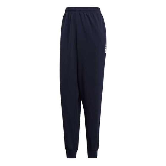 adidas Mens Essentials Plain Tapered Stanford Pants, Navy, rebel_hi-res