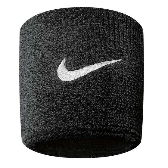 Nike Swoosh Wristband Black / White OSFA, Black / White, rebel_hi-res